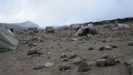 Camp at Karanga