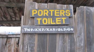 Toilet apartheid...