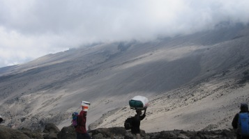 Porters and dust fields