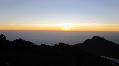 Sunrise over Stella Point