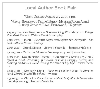 Local Author Book Fair