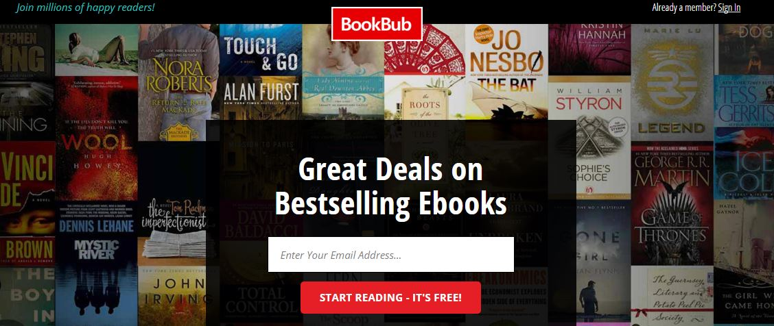 bookbub book reviews