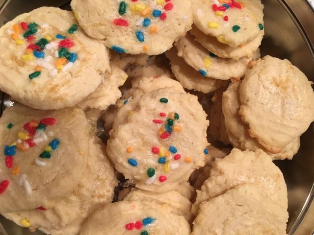 procrastibaking christmas cookies