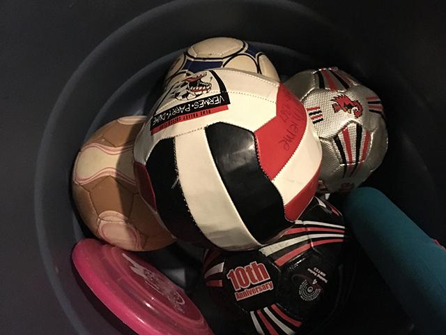 bin full of balls #Purge365