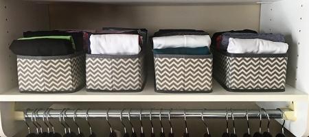 an organized closet that #sparksjoy