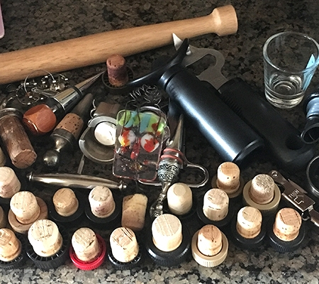 corks and bottle openers