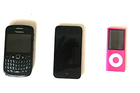 old blackberry's and iPods for sale